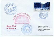1997 Great Wall Station China Chinare XIII GPS Joint Survey Polar Arctic Cover