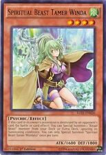 3 x Spiritual Beast Tamer Winda (RATE-EN026) - Rare - Near Mint - 1st Edition