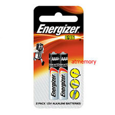 ENERGIZER E96 BATTERY E 96 LR61 Alkaline AAAA 4A 1.5V Single Use Batteries 2pcs