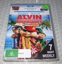 Alvin And The Chipmunks - Chipwrecked - Blu-ray, 2012 - ede