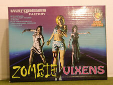 28mm SCALE  ZOMBIE VIXEN  SET  BY WARGAMES FACTORY(RETIRED)