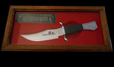 LIMITED EDITION KABAR BOWIE KNIFE NATIVE AMERICAN FRONTIERSMAN TECUMSEH SHAWNEE