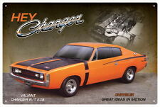 CHRYSLER VALIANT CHARGER E38 VINTAGE TIN SIGN 20x 30cm