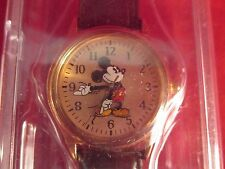 VINTAGE WALT DISNEY FLORIDA MICKEY MOUSE WRIST WATCH NIB WITH TAGS NEEDS BATTERY