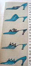 Rare 3 1920s Art Deco Gazette Bon Ton Illustrated Articles Shoes 1923-24