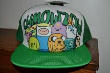 Adventure Time SHMOWZOW Trucker SNAPBACK Adjustable FLATBILL Cap Hat OSFM