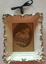 Victorian Post Mortem Baby Photo And Frame