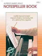 Alfred's Basic Adult Piano Course Notespeller, Bk 1 by Kowalchyk, Gayle, Lancas