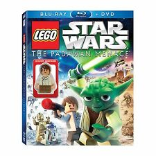 LEGO Star Wars the Padawan Menace Exclusive Young Han Solo Minifigure BluRay DVD