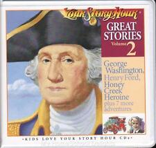 New YOUR STORY HOUR GREAT STORIES Volume 2 6 CD Audio Set Christian Homeschool