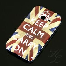 Samsung Galaxy Ace duos s6802, FUNDA RÍGIDA, FUNDA, FUNDA PROTECTORA, ESTUCHE, keep Calm Carry On