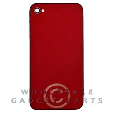 Door with Frame for Apple iPhone 4 GSM Red Panel Housing Battery Cover