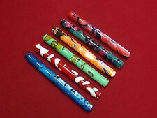 RARE-RANGA JAPAN STYLE ACRYLIC BAMBOO FOUNTAIN PEN-6 COLORS AVAILABLE