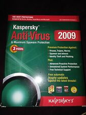 Kaspersky Lab Anti-Virus 2009 3 Users PC
