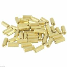Hexagonal Metal Spacers M3x10,12mm Bolts Set of 20 Nut-Bolts for PCB Saperation