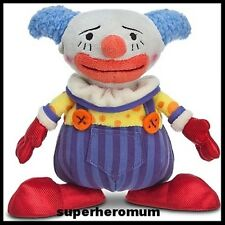 "TOY STORY DISNEY - CHUCKLES CLOWN MINI BEAN BAG PLUSH TOY 7"" - NEW"