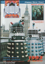 DWB Issue 122 Doctor Who Magazine News Reviews Interviews Tele-Snaps Merchandise
