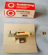GOLDRING MX2H TURNOVER CARTRIDGE WITH MOUNT-NOS IN BOX-MONO-33 / 78-VINTAGE