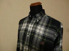 Polo Ralph Lauren Bear Plaid Pocket Shirt - L Camicia Botton Down Blaire Tartan