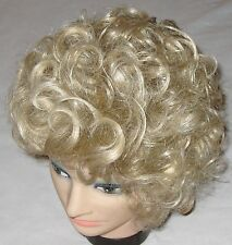 Paula Young Medium Curly Blond Shake Out Style Wig Hair