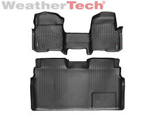 WeatherTec​​h® FloorLiner - Ford F-150 SuperCrew OTH w/o Flow - 2009-2014-Black