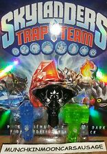 NEW Dark Edition Ultimate KAOS Trap & More for Skylanders Trap Team FREE UK P&P