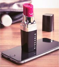 THE BEST MAGIC LIPSTICK POWER BANK 2600MAH USB BATTERY CHARGER PHONE IPHONE