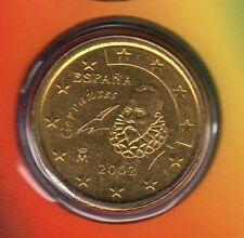 Espagne - 2002 - 50 centimes d'euro FDC provenant coffret BU 99301 exemplaires