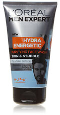 Loreal Men Expert New Hydra Energetic Purifying Face Wash Skin & Stubble 150ml