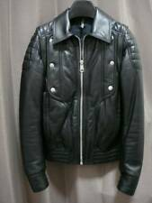 DIOR HOMME aw08 DUE VIE Giacca Biker in Pelle Gilet Hedi