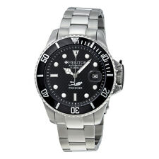 Heritor Pytheas Automatic Black Dial Stainless Steel Mens Watch HR2102