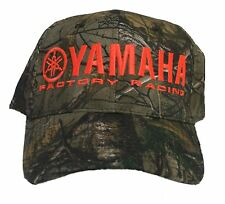 Yamaha Factory Racing Realtree AP camouflage hat camo safety blaze orange atv