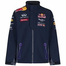 RED BULL RACING TEAMLINE F1 INFINITI SOFTSHELL MEN'S JACKET NAVY PEPE JEANS