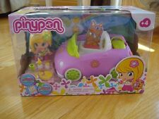 Pinypon Convertible Car Playset PURPLE CAR