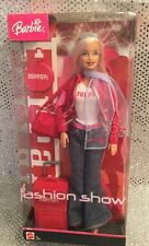 RARE FASHION SHOW FERRARI BARBIE DOLL MATTEL B9210. 2004 MINT NRFB