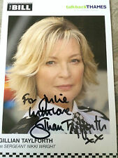 6x4 Hand Signed Photo of Gillian Taylforth  The Bill Eastenders Kathy Beale