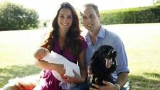 "WILLIAM AND KATE BABY PRINCE GEORGE FAMILY PIC FRIDGE MAGNET 5"" X 3.5"""