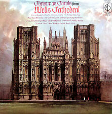 Christmas Carols from Wells Cathedral 1972 EXCELLENT (CFP 40026)