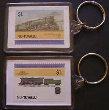 1927 Baltimore & Ohio PRESIDENT Class 4-6-2 Train Stamp Keyring (Loco 100)