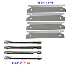 Replacement Burners,Heat Plates Brinkmann 4 Burner 810-8401-S Barbecue Gas Grill