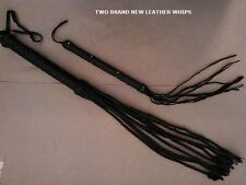 RIDING CROP WHIP CAT-O-NINE TAILS  REAL LEATHER WHIP  RIDING CROP