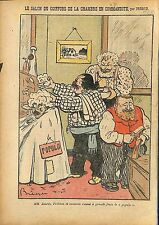 Caricature Antiparlementaire Jean Jaurès Camile Pelletan Salon 1911 ILLUSTRATION