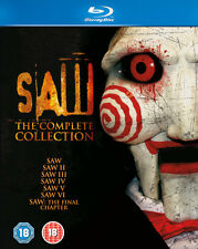 SAW 1-7 COMPLETE COLLECTION BLU RAY BOX SET *NEW AND SEALED* 1 2 3 4 5 6 7