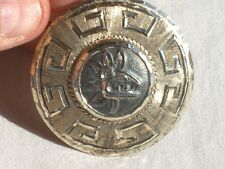Vintage Mexico Mexican 925 Sterling Silver Brooch Pin Jewelry (id444)