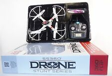 Hobby Grade Drone ~ SS360 Stunt Series ~ 2.4 GHz, 6 Axis Gyro, Headless Mode