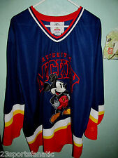 MICKEY MOUSE HOCKEY JERSEY SIZE ADULT LARGE STARTER