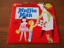 "Sandpiper Chorus Orchestra MUFFIN MAN 9songs 7"" VINYL Single PS 1966 WONDERLAND"