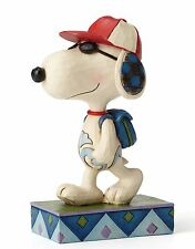 Peanuts Back to School Joe Cool ( Snoopy ) by Jim Shore NEW  27407
