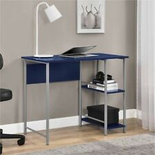 NEW! Student Computer Desk Kids Laptop Desk Furniture Table Dorm Room Home Blue