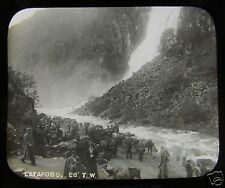 Glass Magic lantern Slide LATAFOSS  C1890 . NORWAY L65